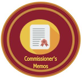 Commissioners_Memos