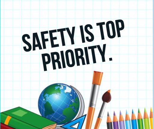 Safety is Top Priority
