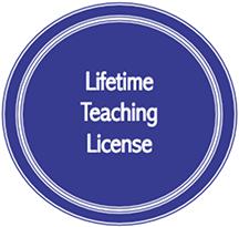 Lifetime Teaching License