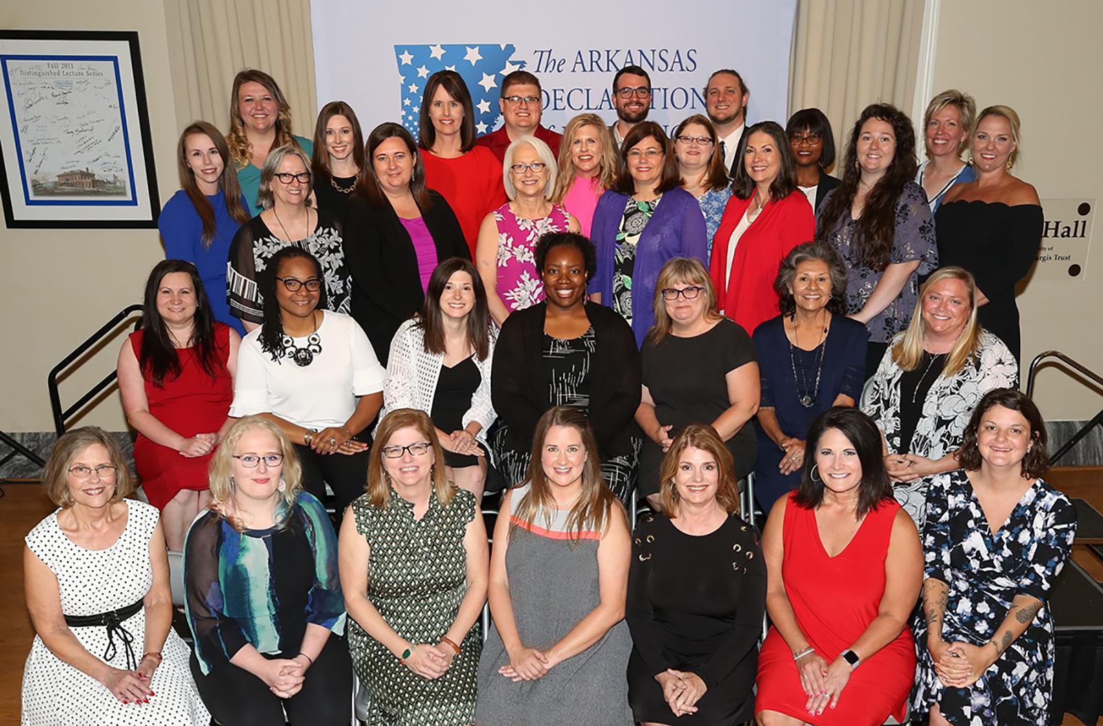 Arkansas Declaration of Learning Program participants