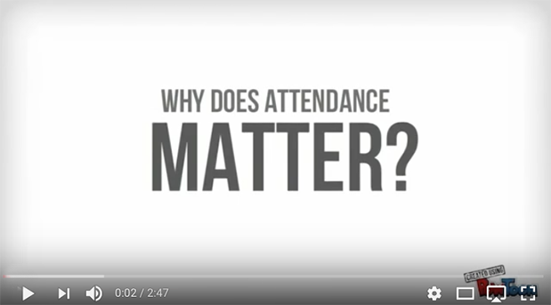 Screenshot from Why Does Attendance Matter video