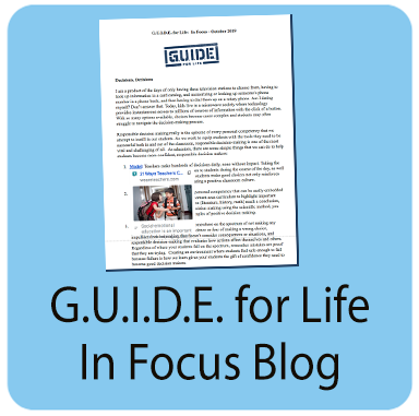Guide for Life In Focus blog