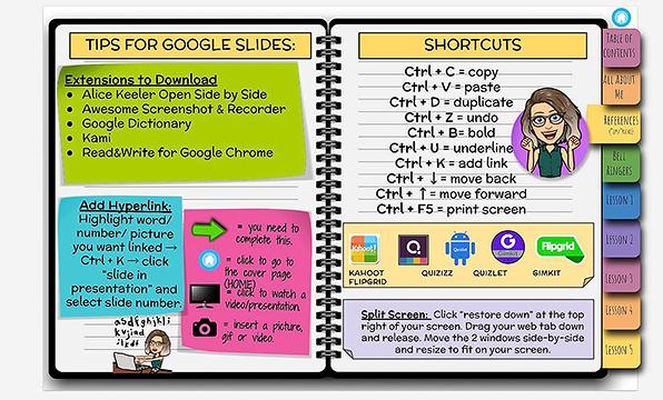 tips for Google slides