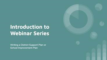introduction to webinar series video