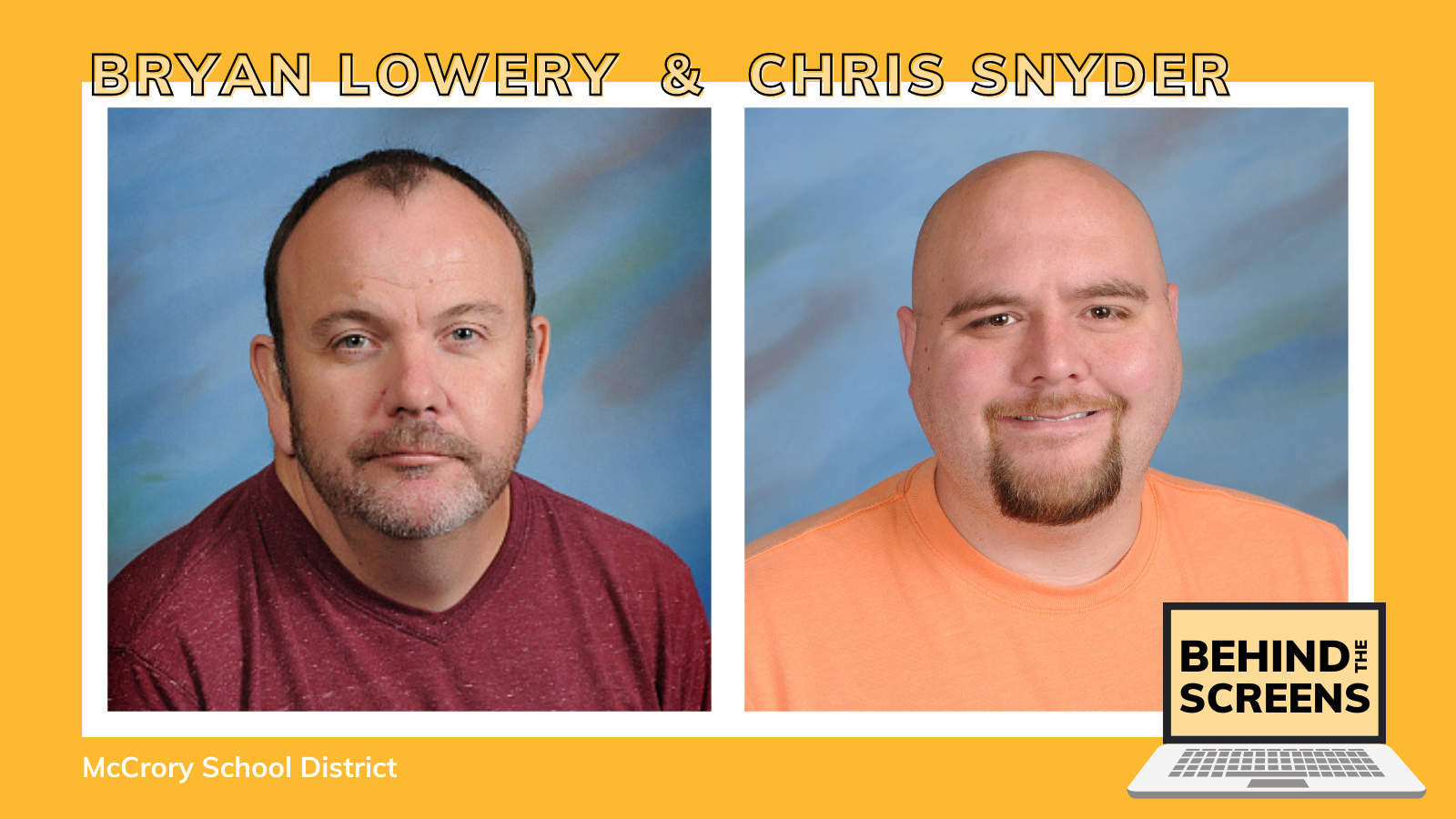 photos of Brian Lowery and Chris Snyder